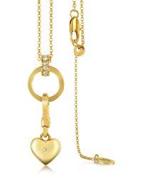 Juicy Couture - Charm Catcher Necklace - Lyst