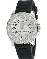 Juicy Couture - Stainless Steel and Rubber Watch White - Lyst