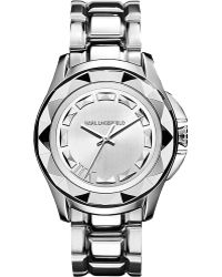 shop men s karl lagerfeld watches from 98 lyst page 2 karl lagerfeld kl1005 round stainless steel watch lyst