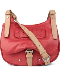 Longchamp - Balzane Roots Leather Crossbody Bag - Lyst