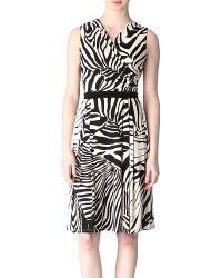 Max Mara Studio White Urano Dress - Lyst