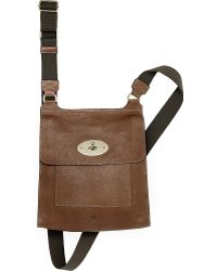 Mulberry Brown Antony Messenger - Lyst
