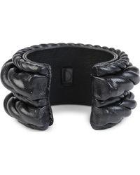 Natalia Brilli - Bind Leather Cuff - Lyst