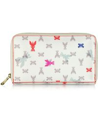 Patrizia Pepe | Pepe Fly Printed Fabric Wallettravel Case | Lyst