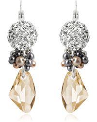 Swarovski - Winter Garden Earrings - Lyst