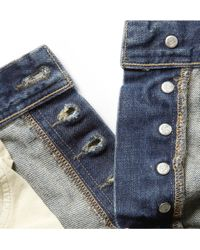J.Crew | Wallace Barnes Straight Fit Washed Denim Jeans | Lyst