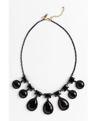 Kate Spade Painted Jewels Bib Statement Necklace - Lyst