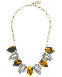 J.Crew Lulu Frost For Jcrew Crystal Kite Necklace - Lyst