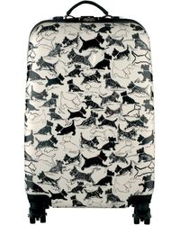 Radley Thames Dog Print 4wheel Cabin Suitcase
