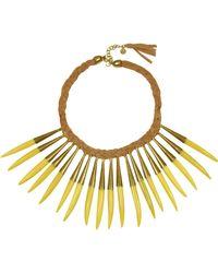 Antik Batik - Noli Leather And Metal Necklace - Lyst