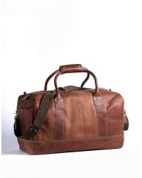 Cole Haan - Hermitage Leather Duffel Bag - Lyst