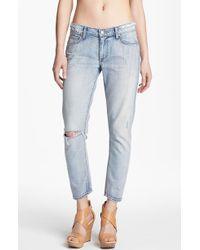 Paige Lydia Crop Jeans Pilot - Lyst