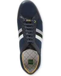 Hugo Boss Victoire Leather Trainers - Lyst