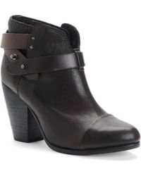 Rag & Bone Harrow Boot Deep Brown - Lyst