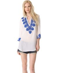Rory Beca - Embroidered Caftan Tunic - Lyst