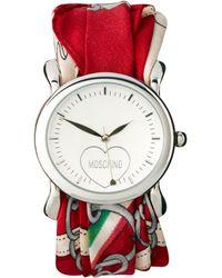 Moschino -  Scarf Wrap Wrist Watch - Lyst
