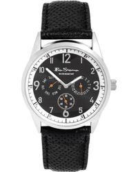 Ben Sherman Leather Strap Watch R911 - Lyst