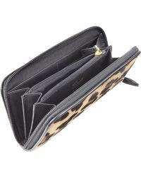 Fontanelli - Horsehair Zip-around Wallet - Lyst