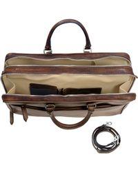 Pratesi - Genuine Leather Briefcase - Lyst