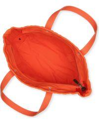 1e1e800aa28 Ralph Lauren Orange Canvas Pony Slim Handbag - Jaimonvoyage.com