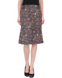 Rochas Knee Length Skirts - Lyst