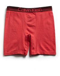 Calvin Klein Stretch Cotton Boxer Briefs - Lyst