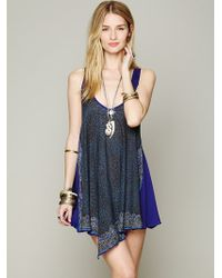 Free People Printed Tunic Cami - Lyst