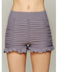 Intimately - Ruched Seamless Shorts - Lyst