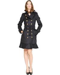 Burberry Littleton Cashmere Blend Cloth Coat - Lyst