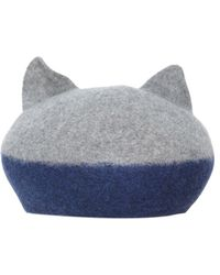 Cats by Tsumori Chisato - Cat Ear Wool Hat - Lyst