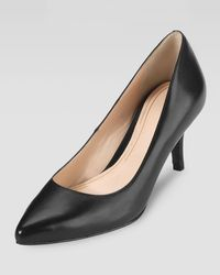 Cole Haan Chelsea Pointed Toe Low Pump - Lyst