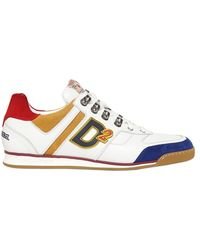 DSquared² Leather Suede Winner Sneakers - Lyst