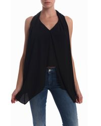 Elizabeth And James Grace Blouse Black - Lyst