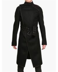 Gareth Pugh - Double Waterproof Wool Cloth Coat - Lyst