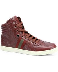 Gucci Ssima High-Top Sneakers - Lyst