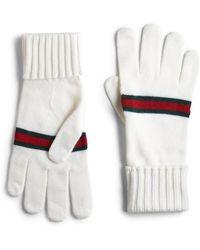 Gucci Knit Gloves - Lyst