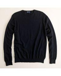 J.Crew Tall Cotton-Cashmere Crewneck Sweater - Lyst