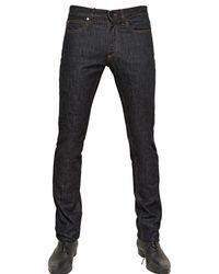 Lanvin 19Cm Slim Fit Washed Denim Jeans - Lyst