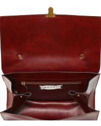 Marni - Faux Leather Satchel - Lyst