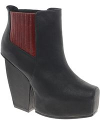 Messeca - Platform Ankle Boot - Lyst