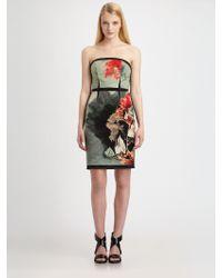 Sachin & Babi Dulce Floral Panel Dress - Lyst