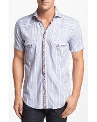 Bogosse Mini Gerard Slim Fit Sport Shirt - Lyst