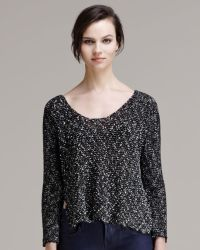 Helmut - Womens Caged Boucle Jumper - Lyst