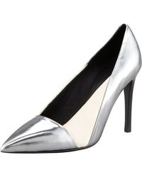 See By Chloé Specchio Pointedtoe Pump Anthracite - Lyst