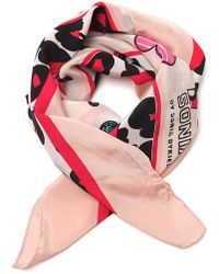 Sonia by Sonia Rykiel - Star and Cherry Print Scarf - Lyst