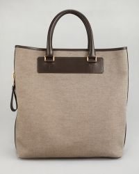 Tom Ford | Canvas Sidezip Tote Bag | Lyst