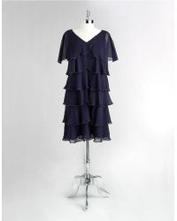 Patra - Petites Beaded Petal Dress - Lyst