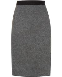 Paul Smith Black Label - Jersey Pencil Skirt - Lyst