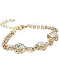 ASOS Collection Limited Edition Flower Jewel Bracelet - Lyst