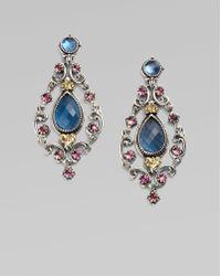 Konstantino Semi-Precious Multi-Stone Chandelier Earrings - Lyst